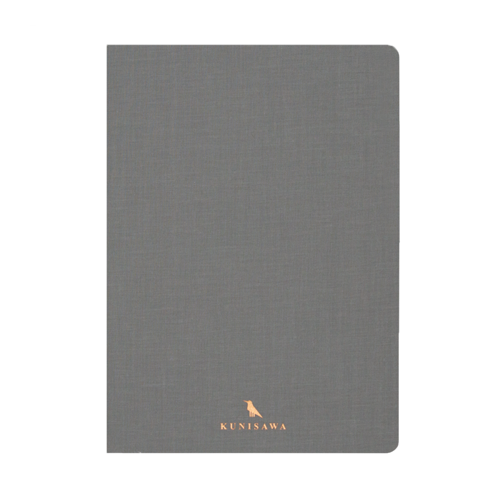 Kunisawa Find Note Hard Notebook light grey