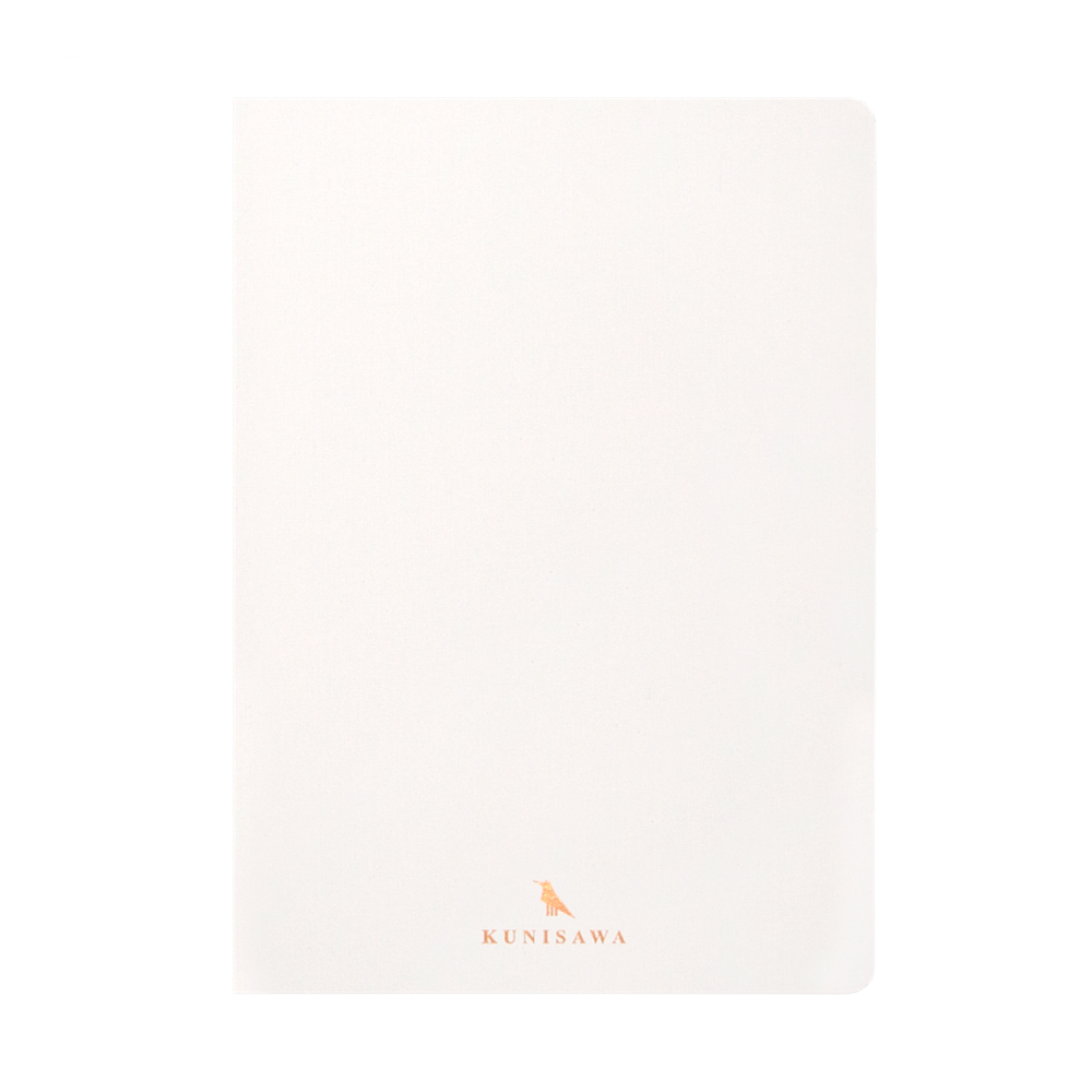 Kunisawa Find Note Hard Notebook white