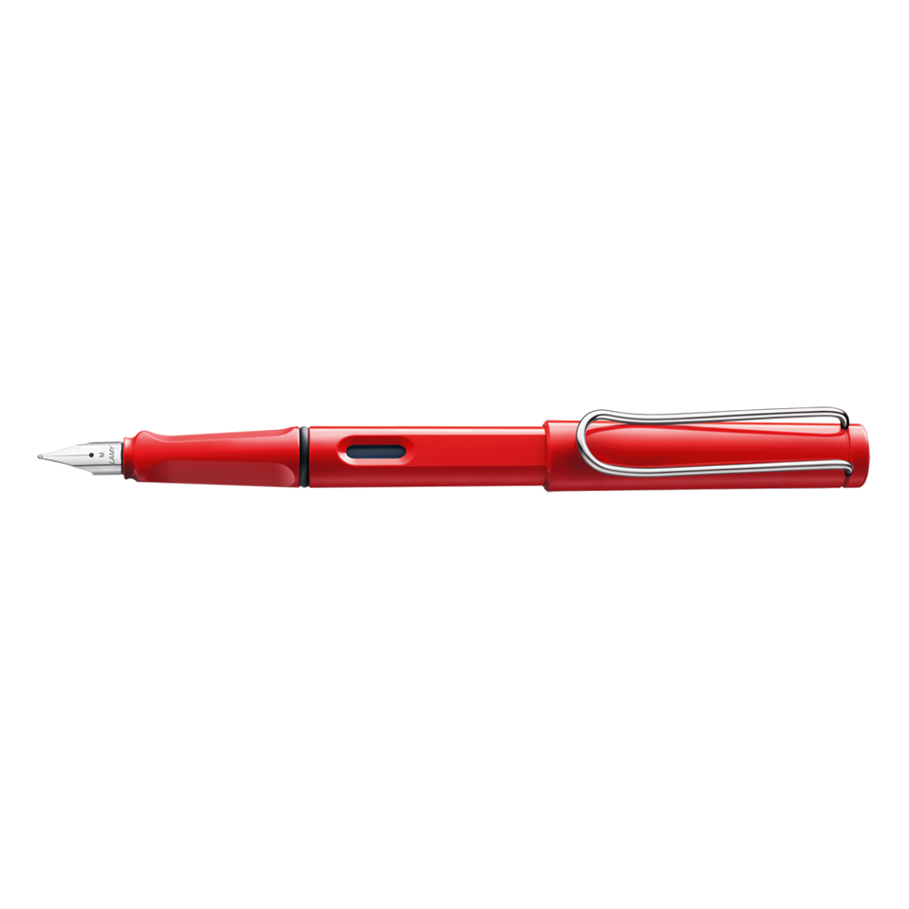Lamy Safari Fountain Pen red