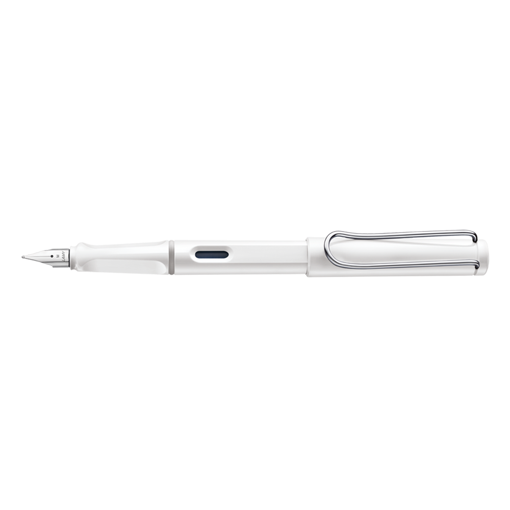 Lamy Safari Fountain Pen white