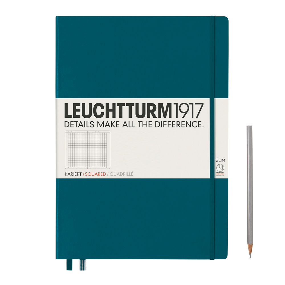 Leuchtturm1917 Master Slim Hardcover Notebook square