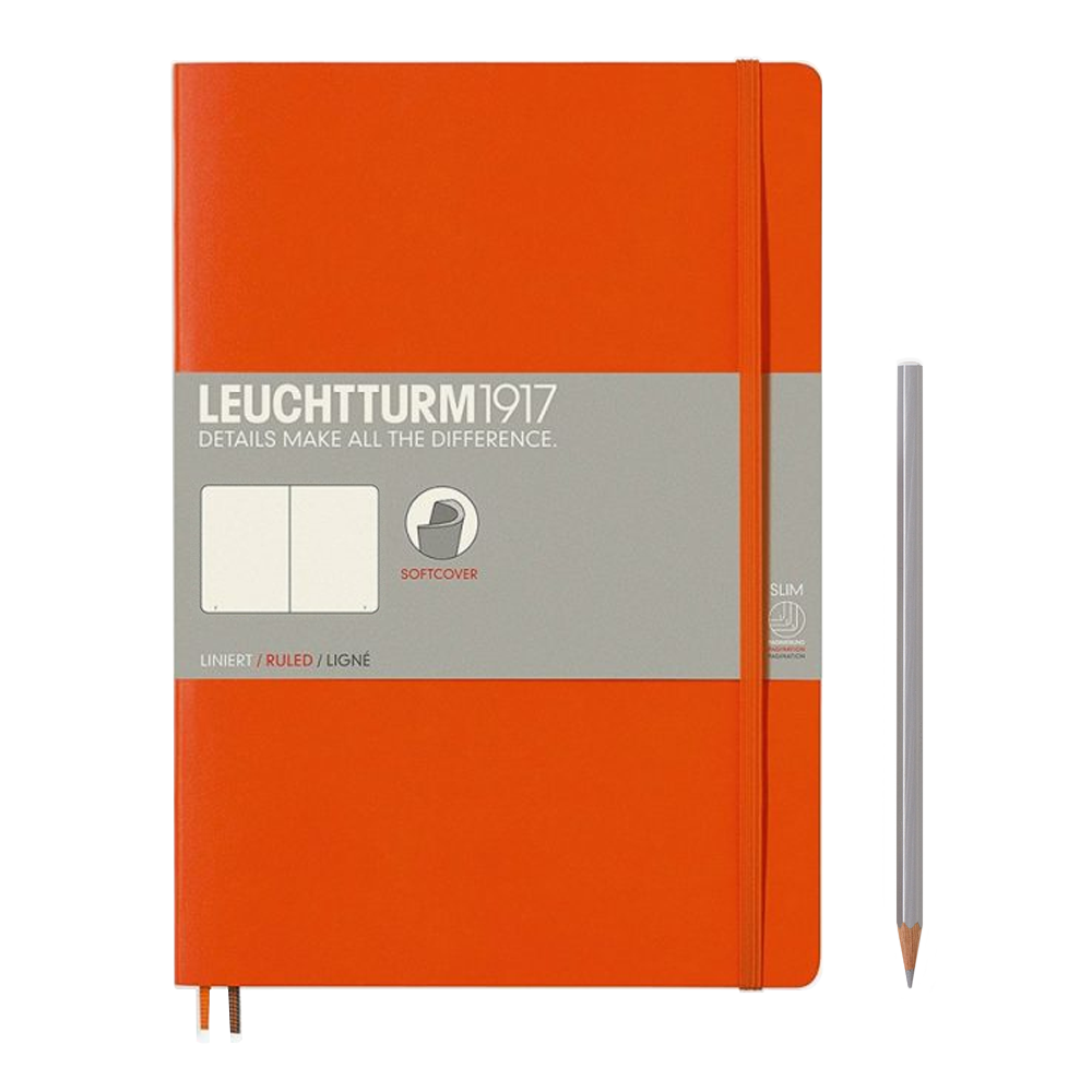Leuchtturm1917 Composition Softcover Notebook blank orange