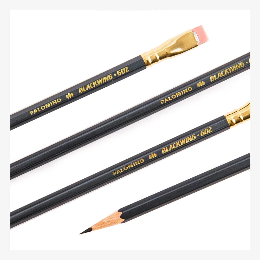 Palomino Blackwing 602 set of 12 pencils detail
