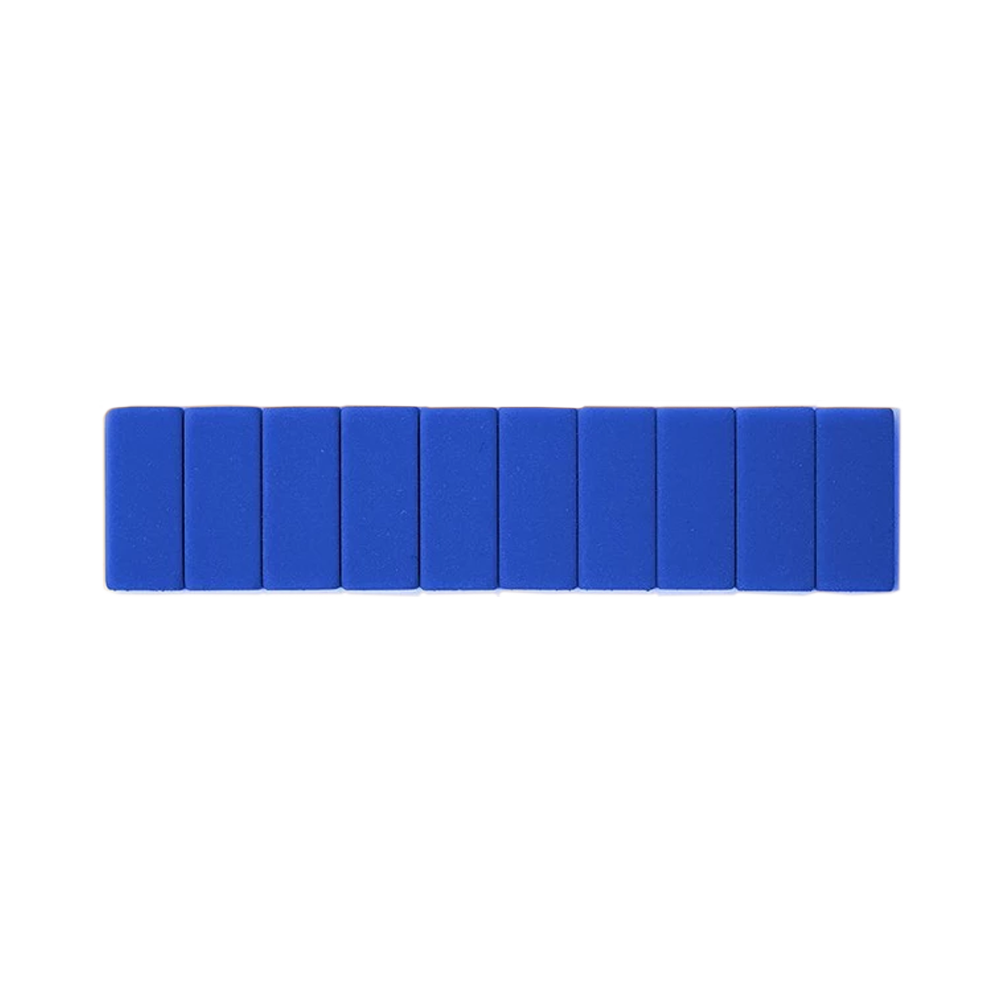 Palomino Blackwing Replacement Erasers set of 10 blue