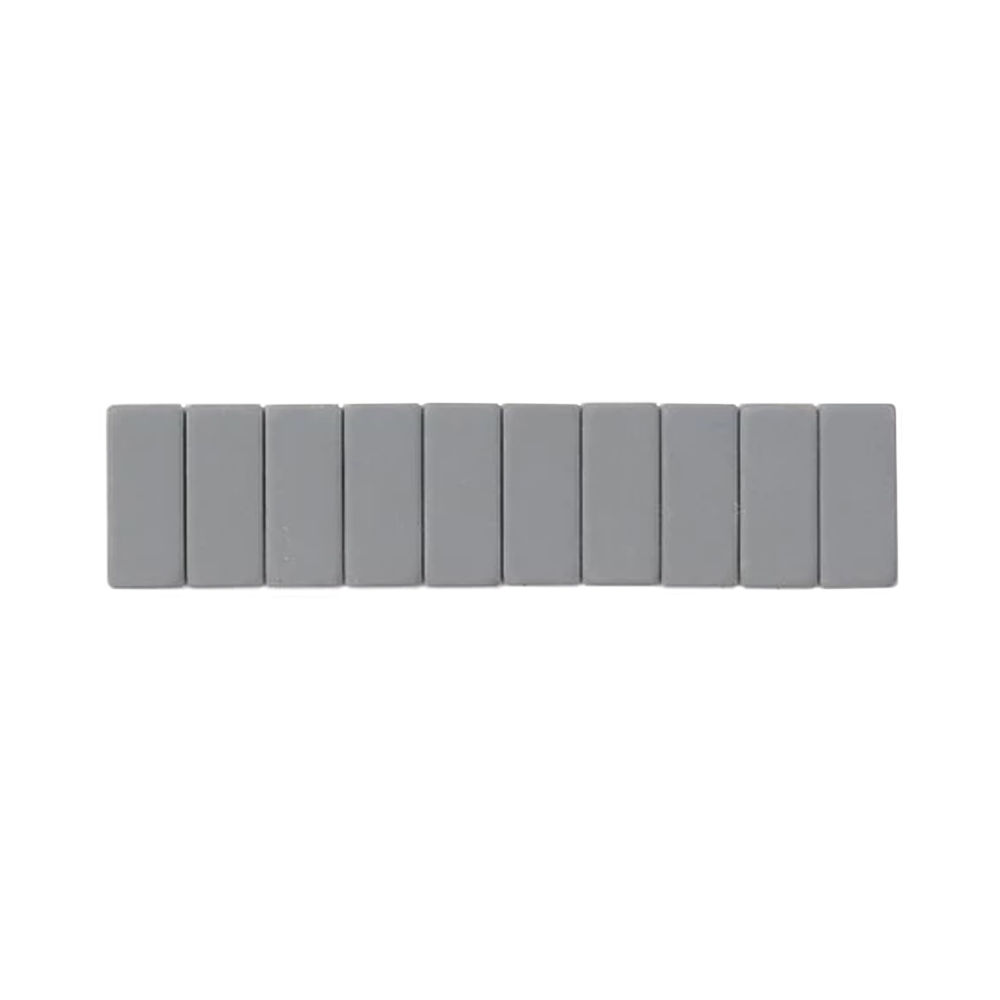 Palomino Blackwing Replacement Erasers set of 10 gray