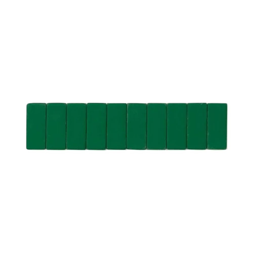 Palomino Blackwing Replacement Erasers set of 10 green