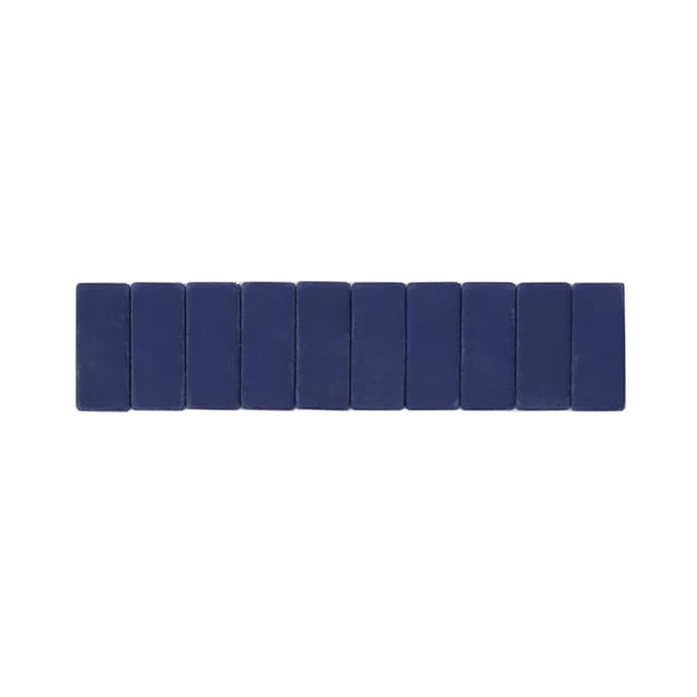 Palomino Blackwing Replacement Erasers set of 10 navy