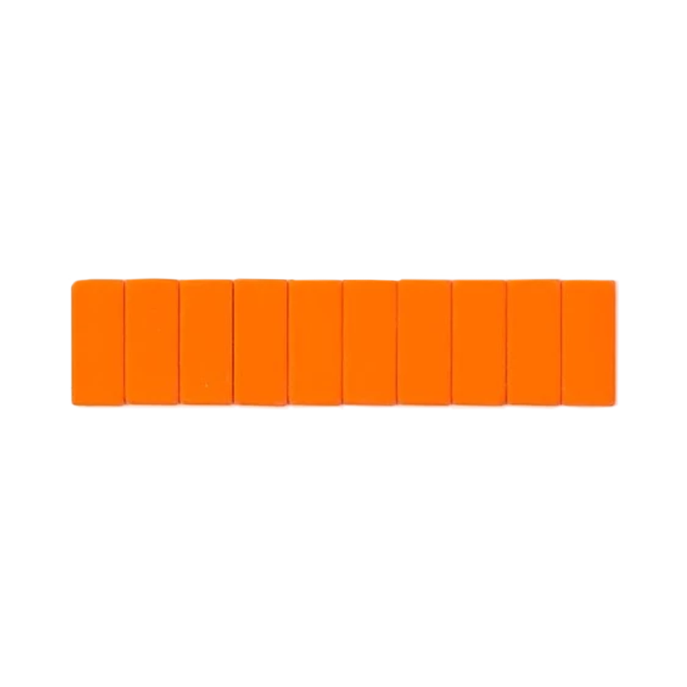 Palomino Blackwing Replacement Erasers set of 10 orange