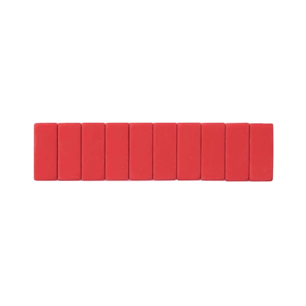 Palomino Blackwing Replacement Erasers set of 10 red