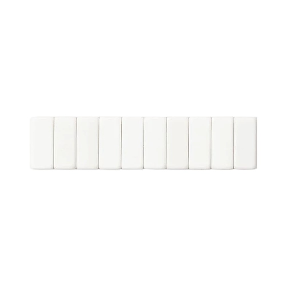 Palomino Blackwing Replacement Erasers set of 10 white