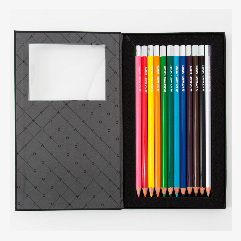 Palomino Blackwing Colors Pencil Set open