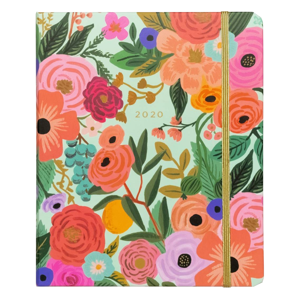 Rifle Paper Co Garden Party 2020 planner cover