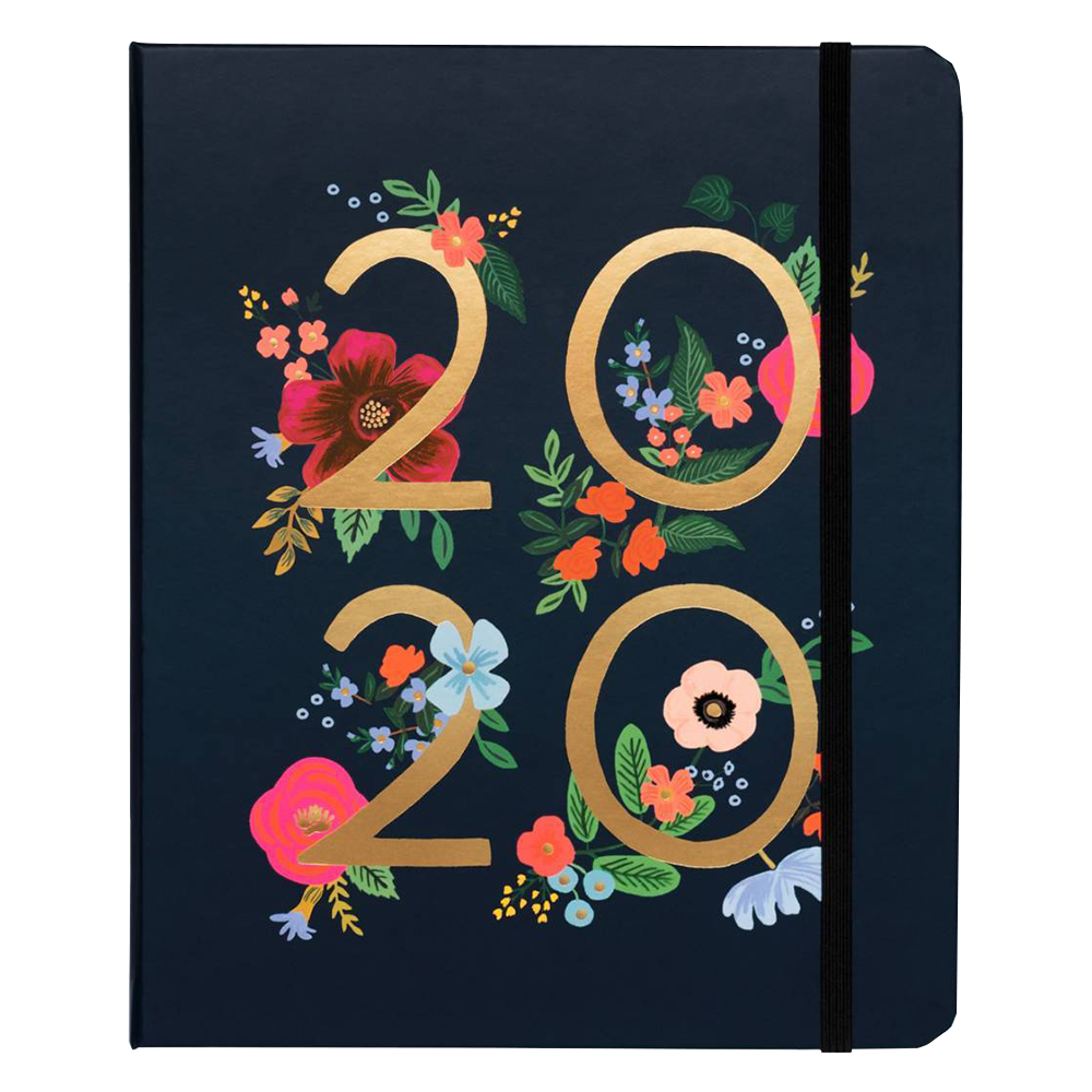 Rifle Paper Co Wild Rose 2020 planner cover