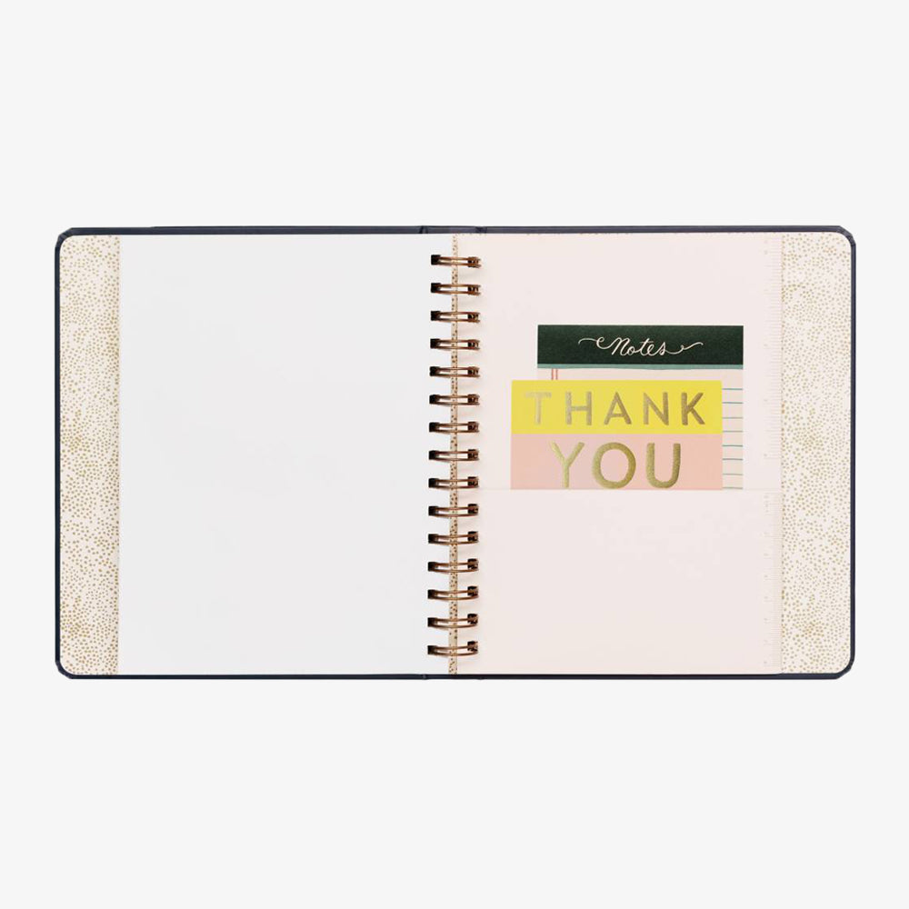 Rifle Paper Co Wild Rose 2020 planner thank you page