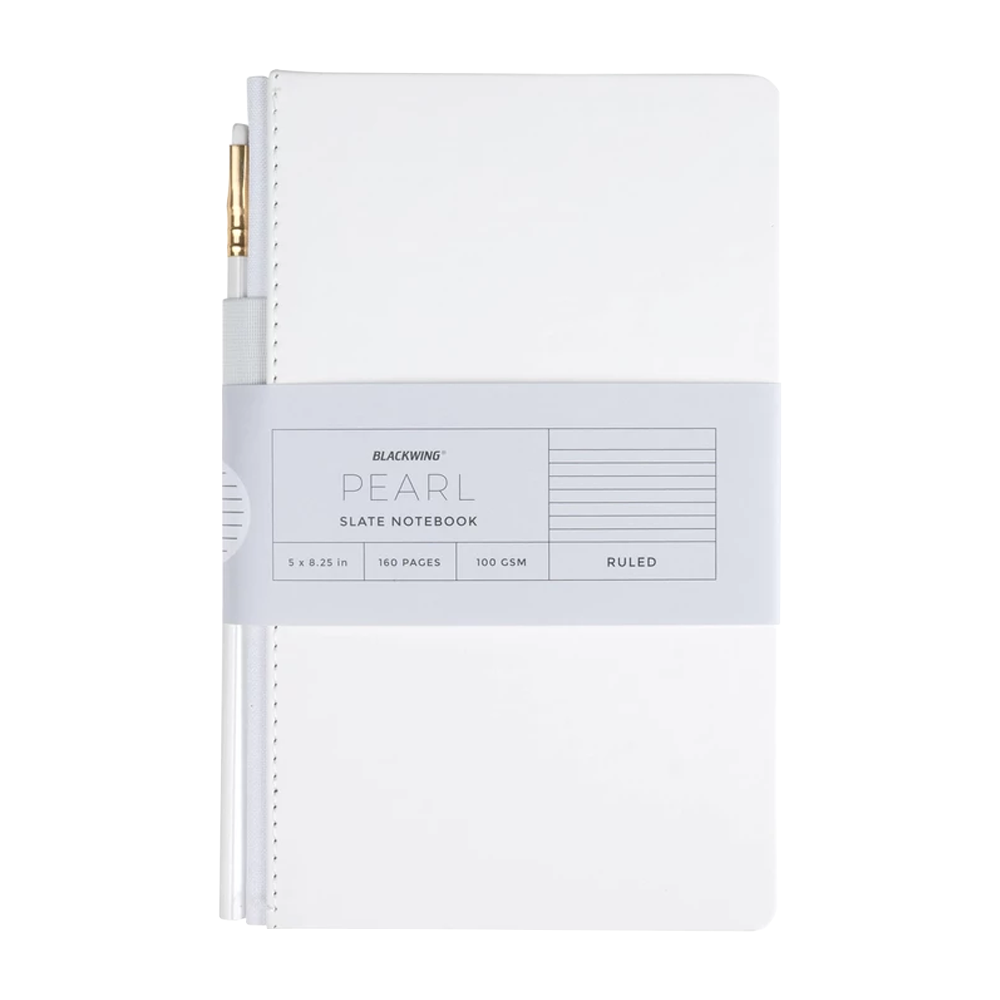 Pearl Slate Notebook Lined
