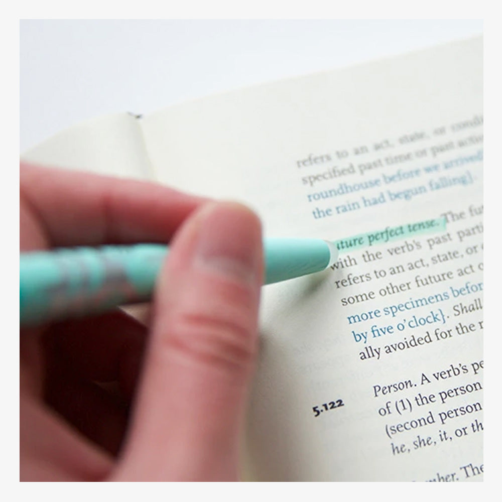 Pilot FriXion Erasable Highlighters in use