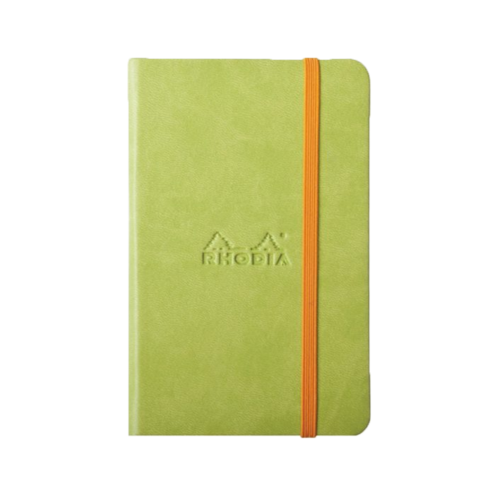 Rhodia Leather Webnotebook Small Anise
