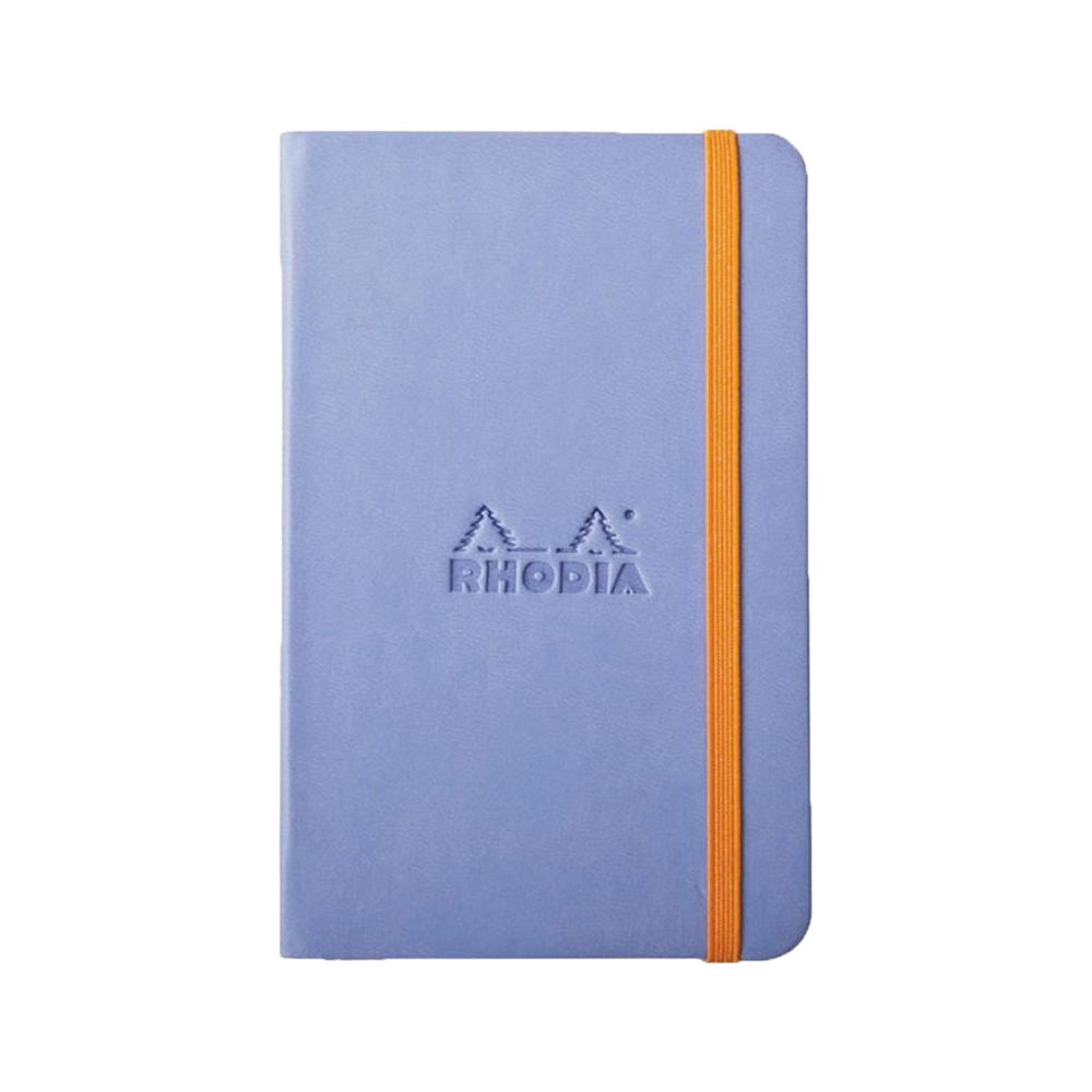 Rhodia Leather Webnotebook Small Iris