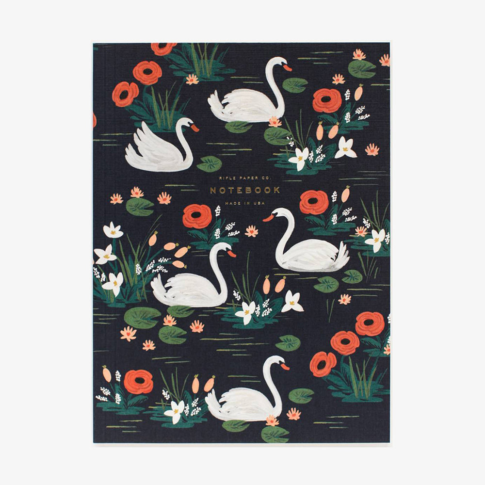 Rifle Paper Co Softcover Notebook Set Birds of a Feather Swan
