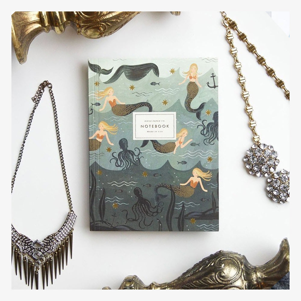 Softcover Notebook Set - Mermaid