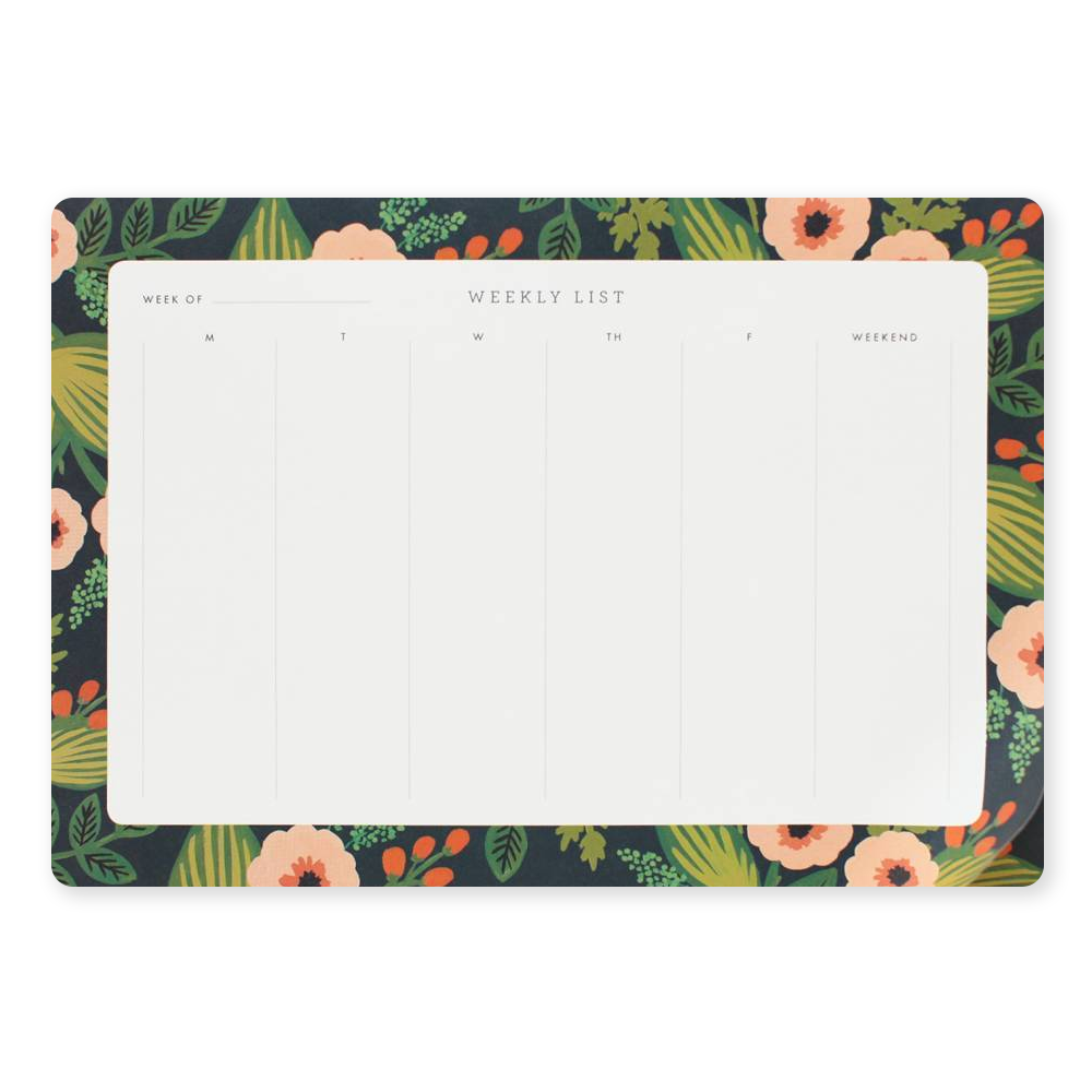 Rifle Paper Co desk pad jardin