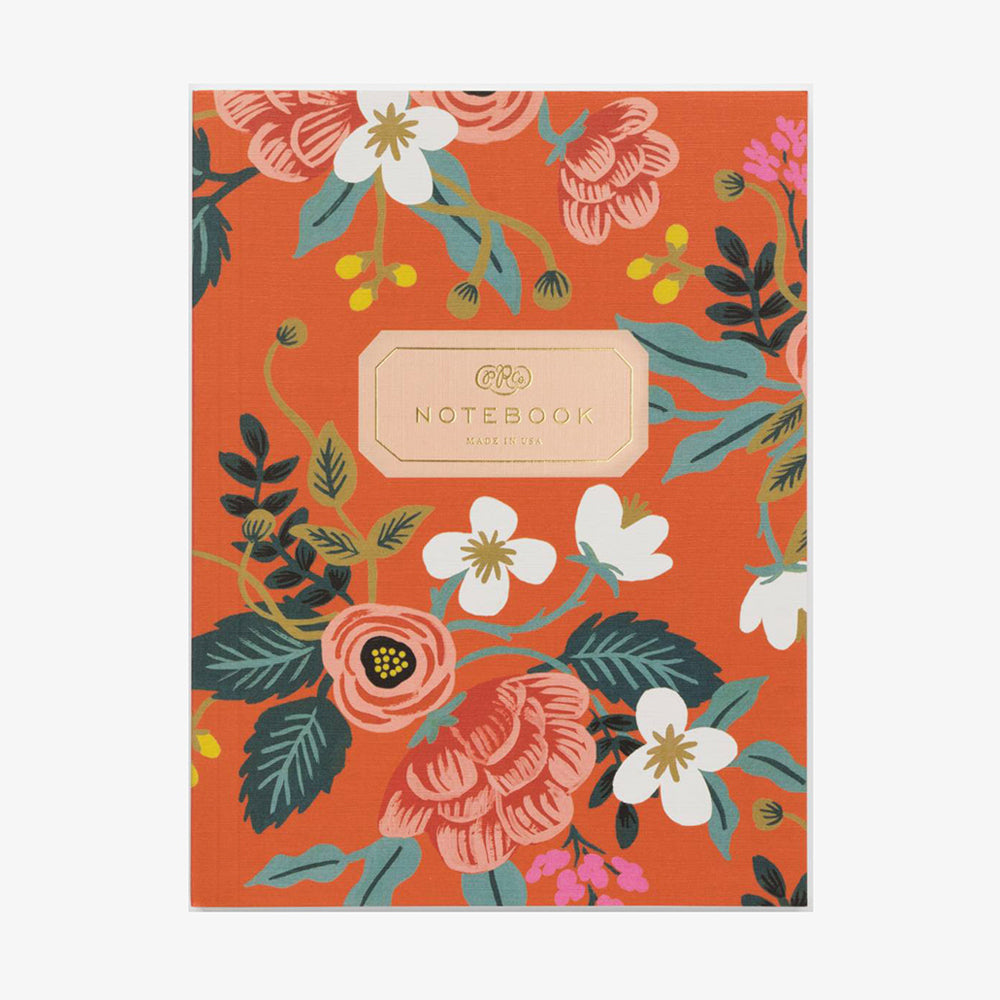 Rifle Paper Co Softcover Notebook Birch Rust Orange