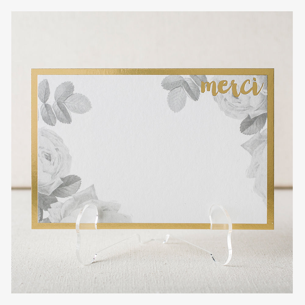 Smock Paper merci card