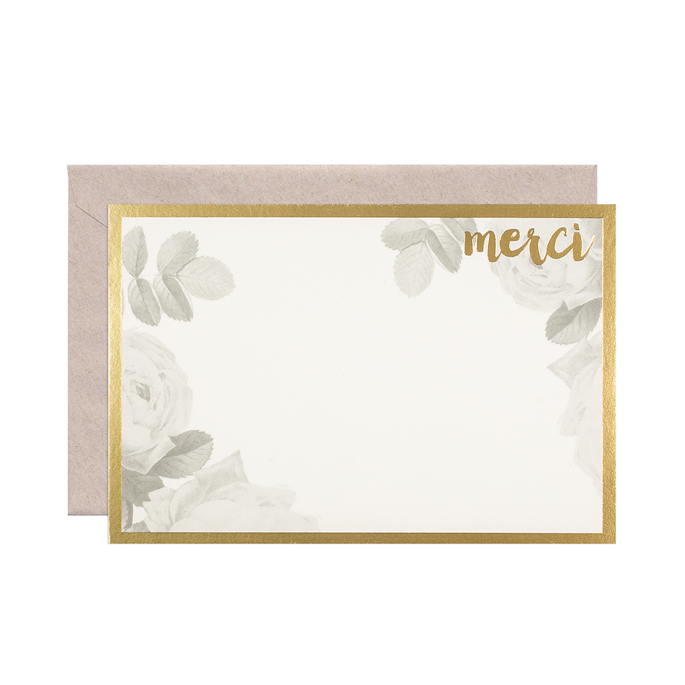 Smock Paper merci card set