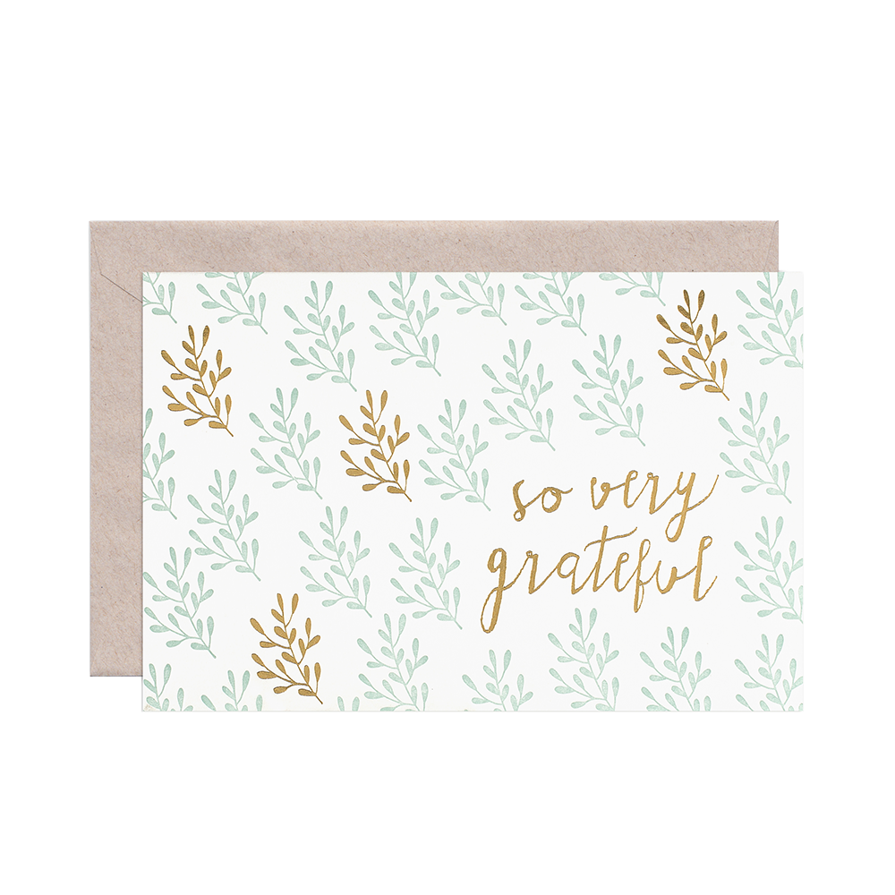 Smock Paper So Very Grateful Card set