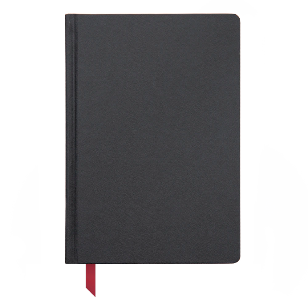 Ink+Volt Hardcover Notebook black