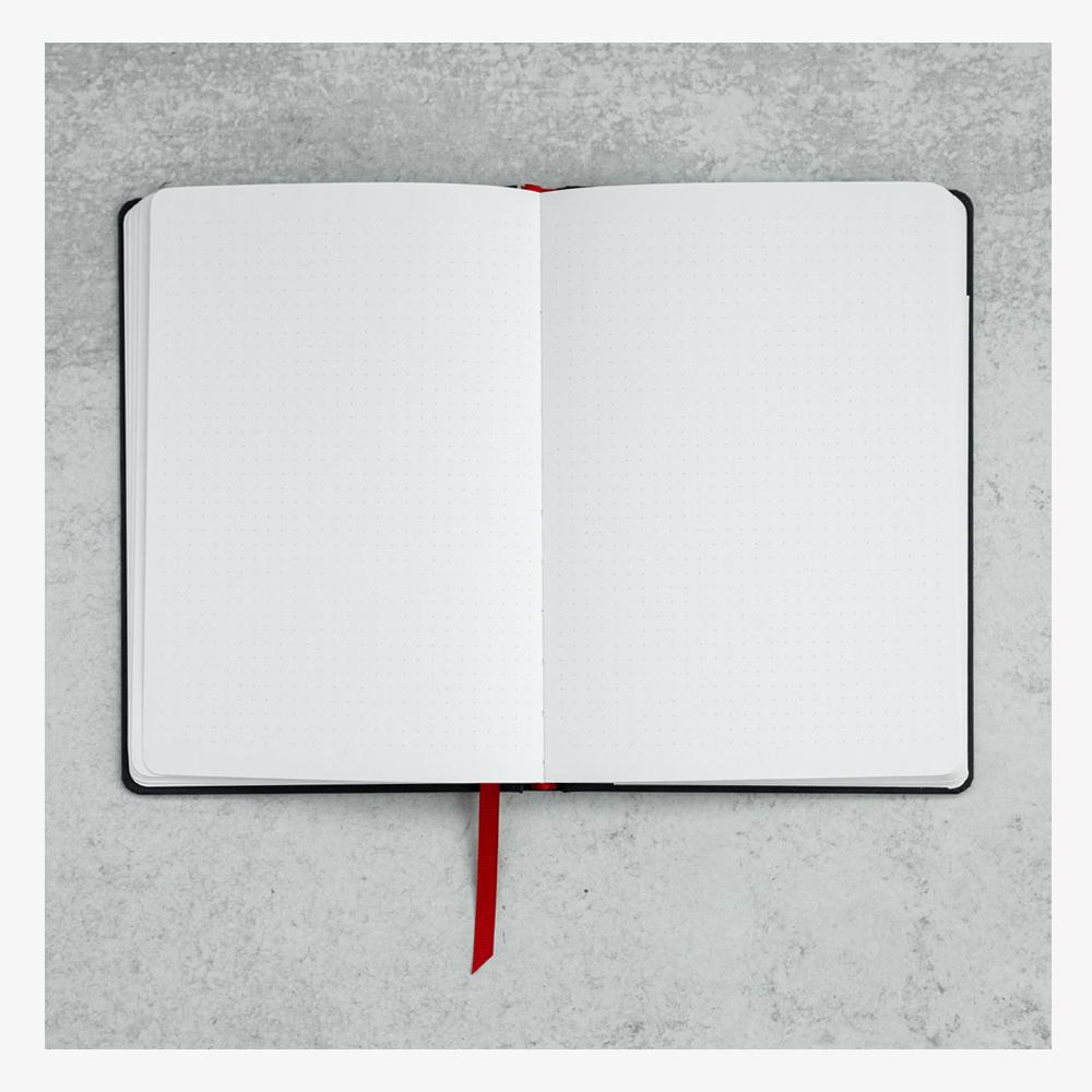 Ink+Volt Hardcover Notebook dot grid