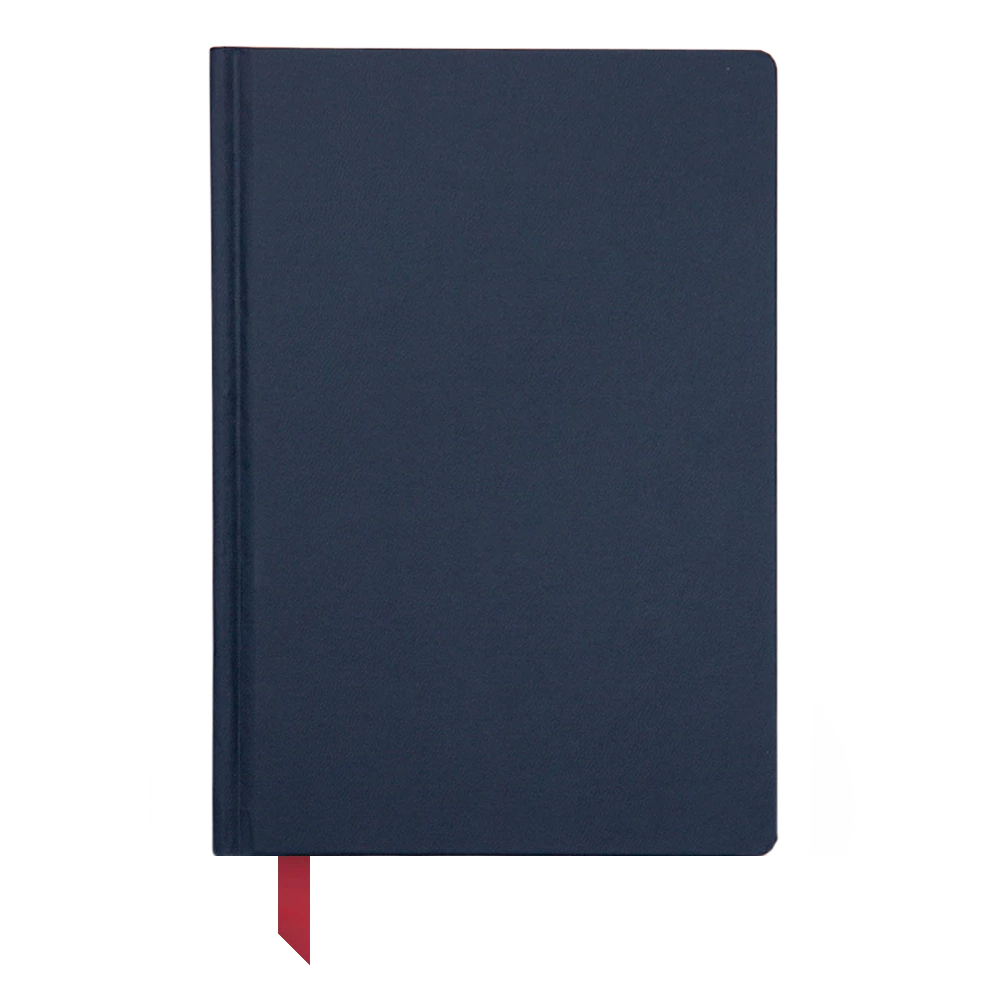 Ink+Volt Hardcover Notebook navy