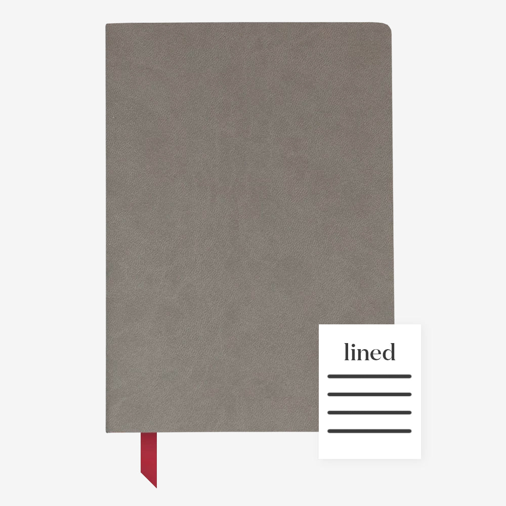 Ink+Volt Softcover Notebook charcoal lined