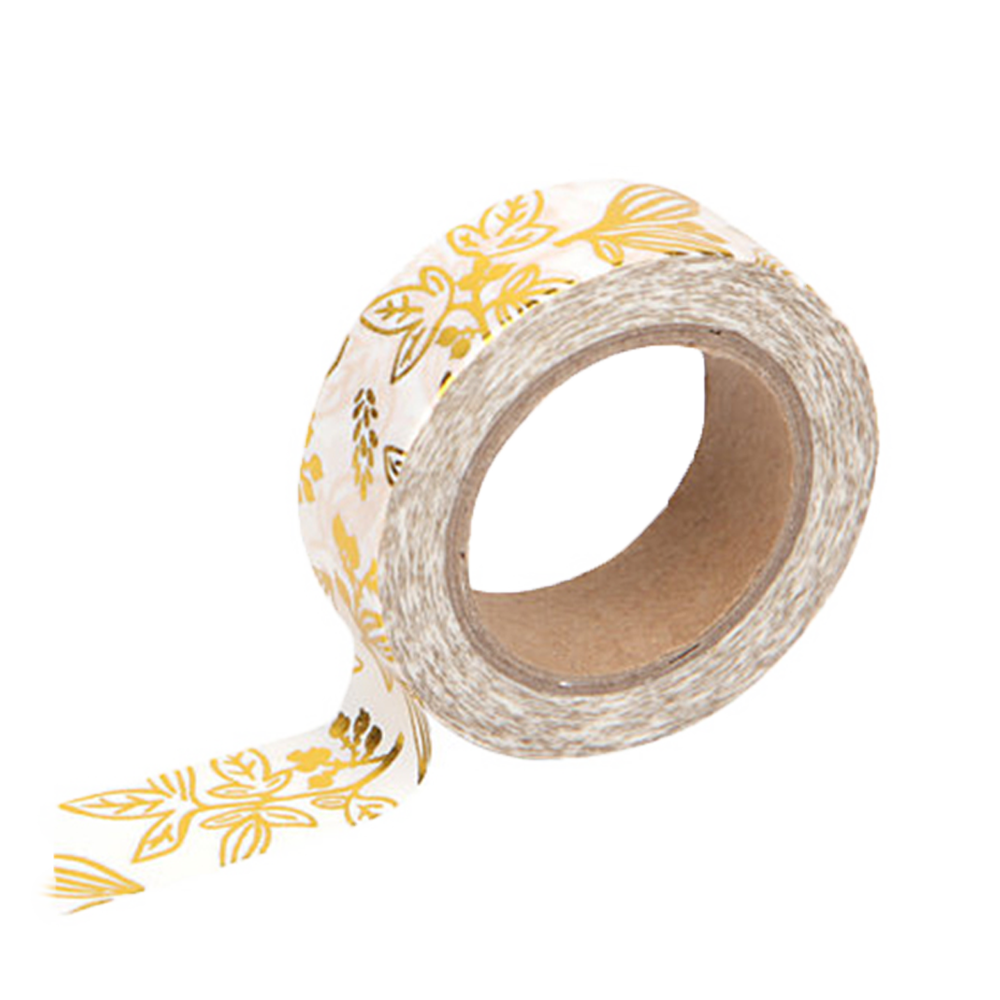 Washi tape gold bamboo
