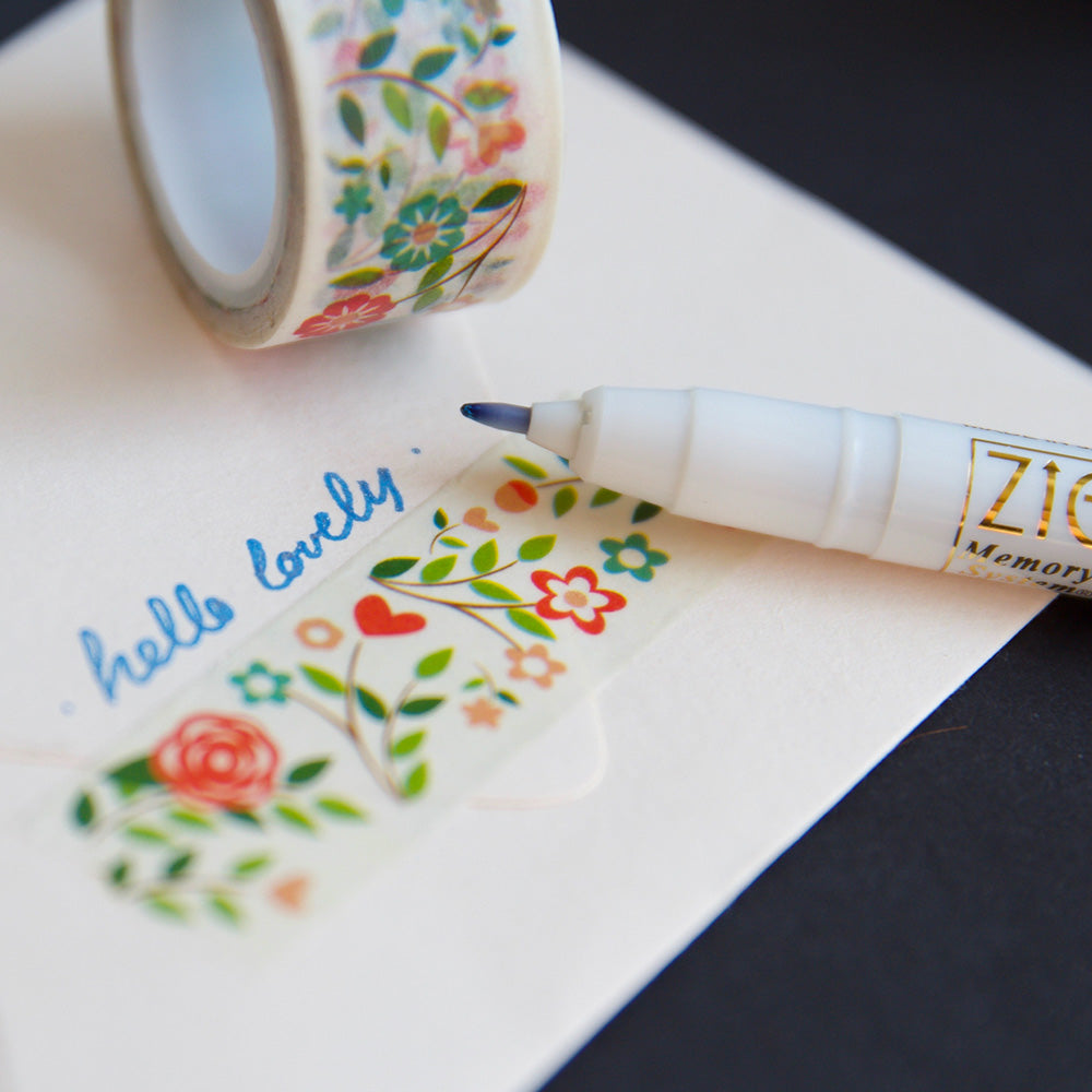 Wink of Stella Glitter Pen blue context