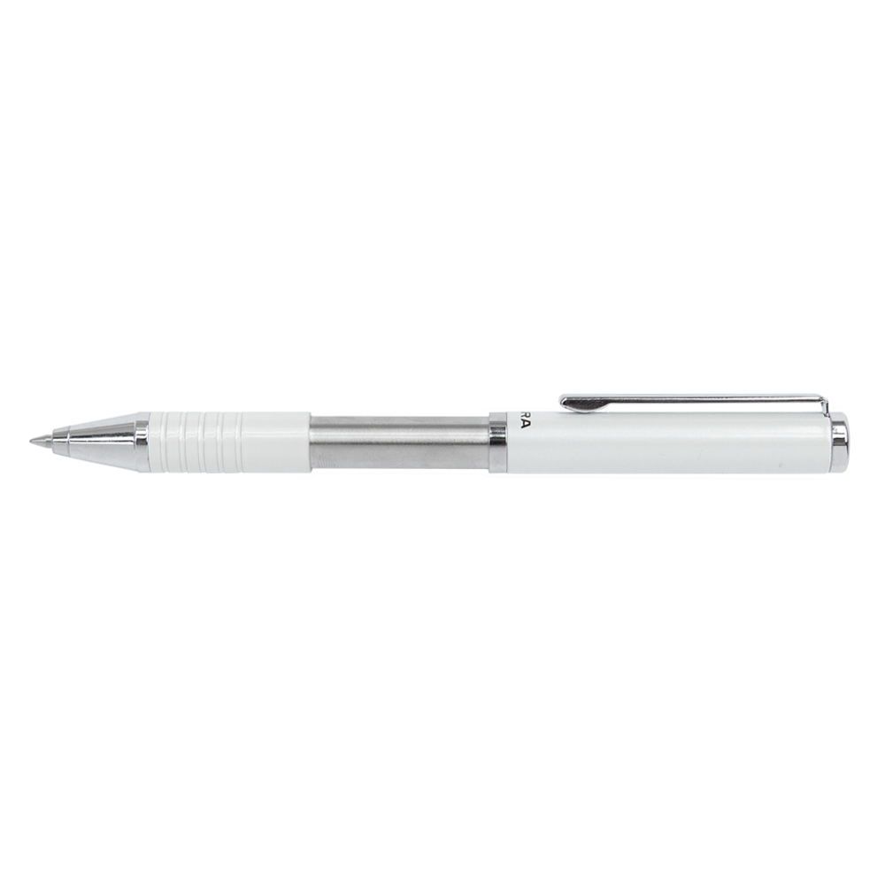 Zebra Collapsable Ballpoint Pen white