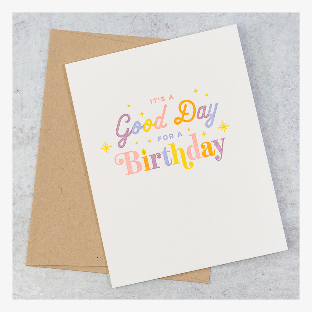 Brights Birthday Card Set - Its a good day
