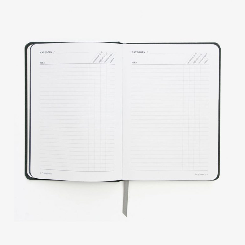 Hatch Notebook conceive section