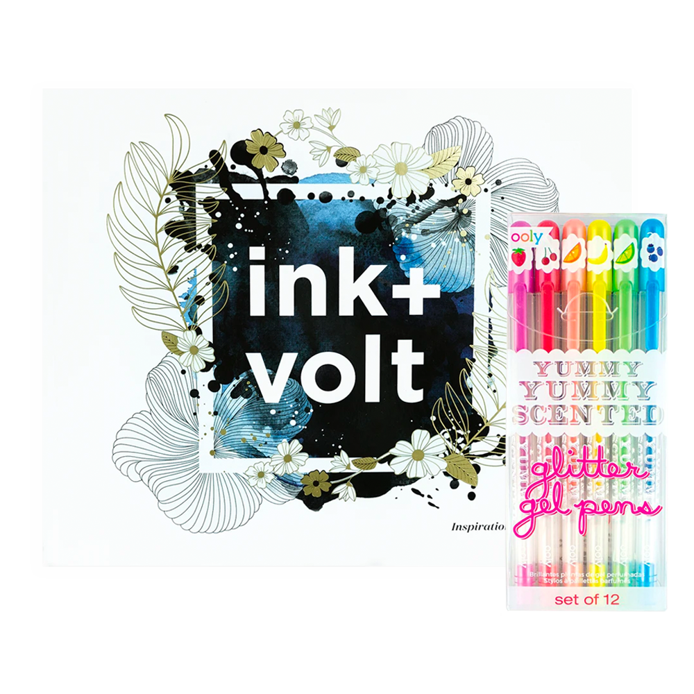 Ink+Volt Inspirational Coloring Book