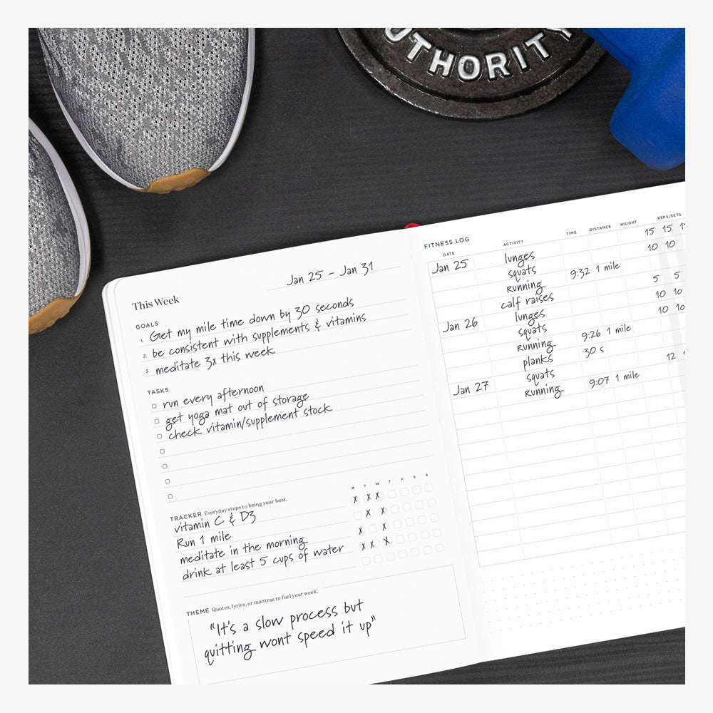 Ink+Volt Fitness Planner