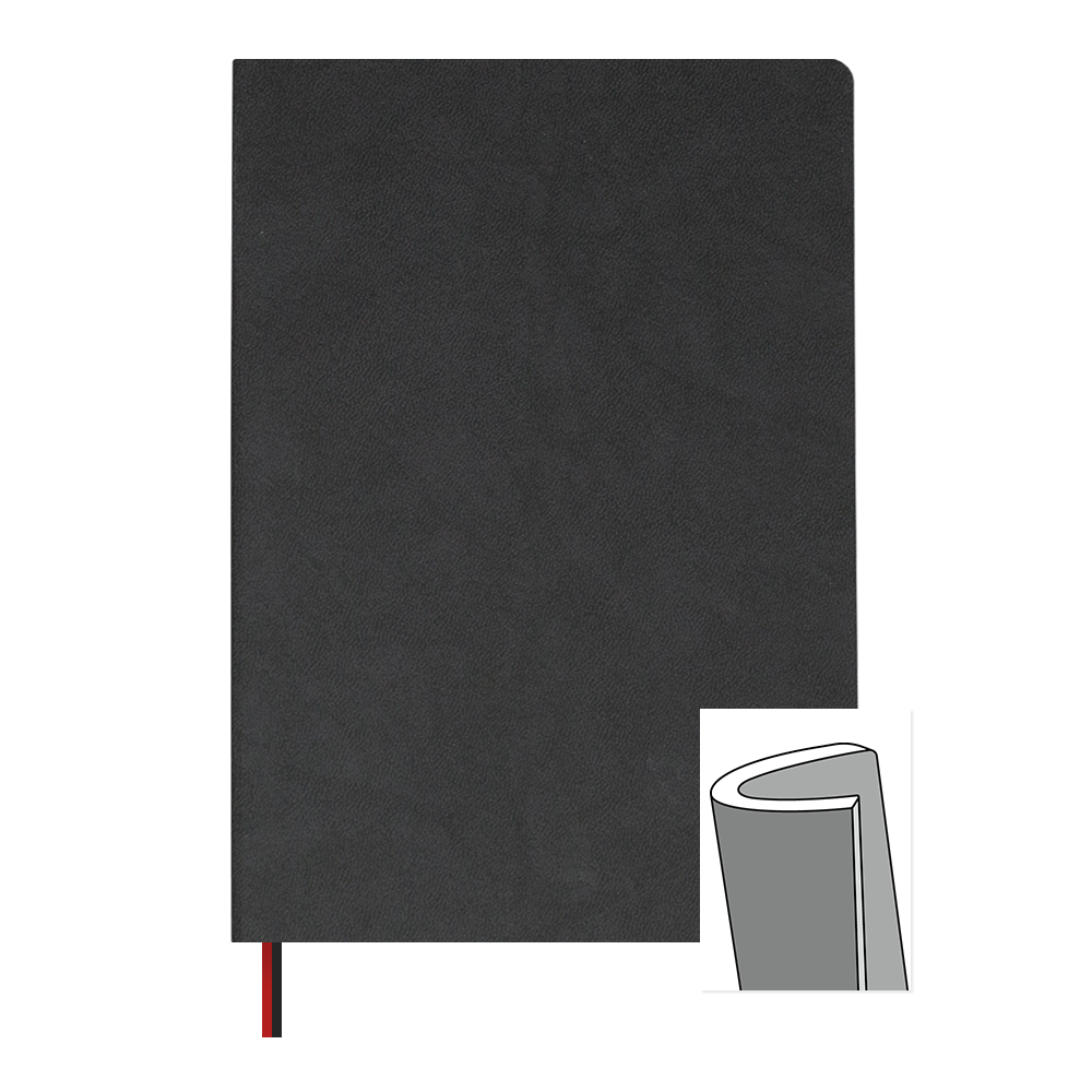 Ink+Volt 3-Month Undated Planner Softcover Black