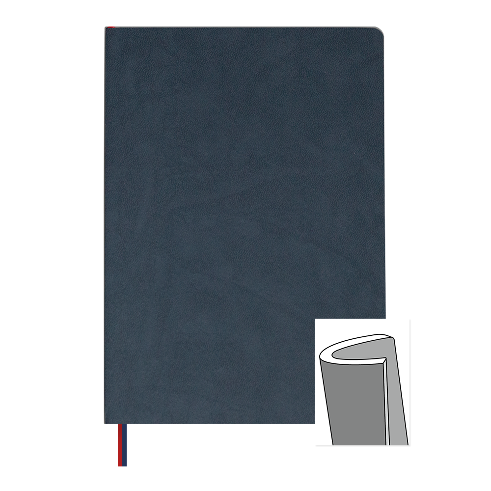 Ink+Volt 3-Month Undated Planner Softcover Navy