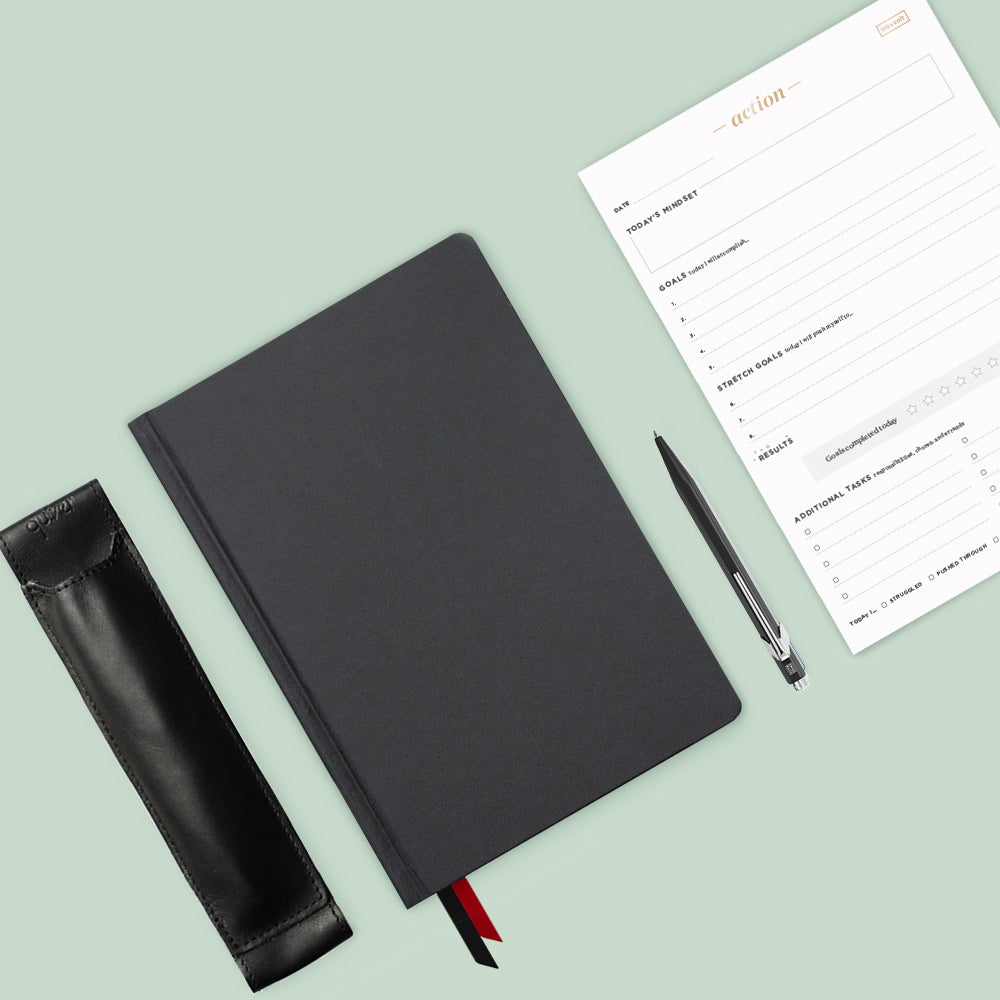 Ink+Volt Goal Planner Starter Kit black