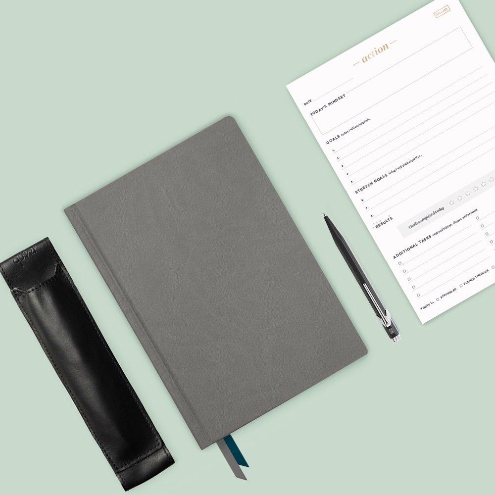 Ink+Volt Goal Planner Starter Kit charcoal