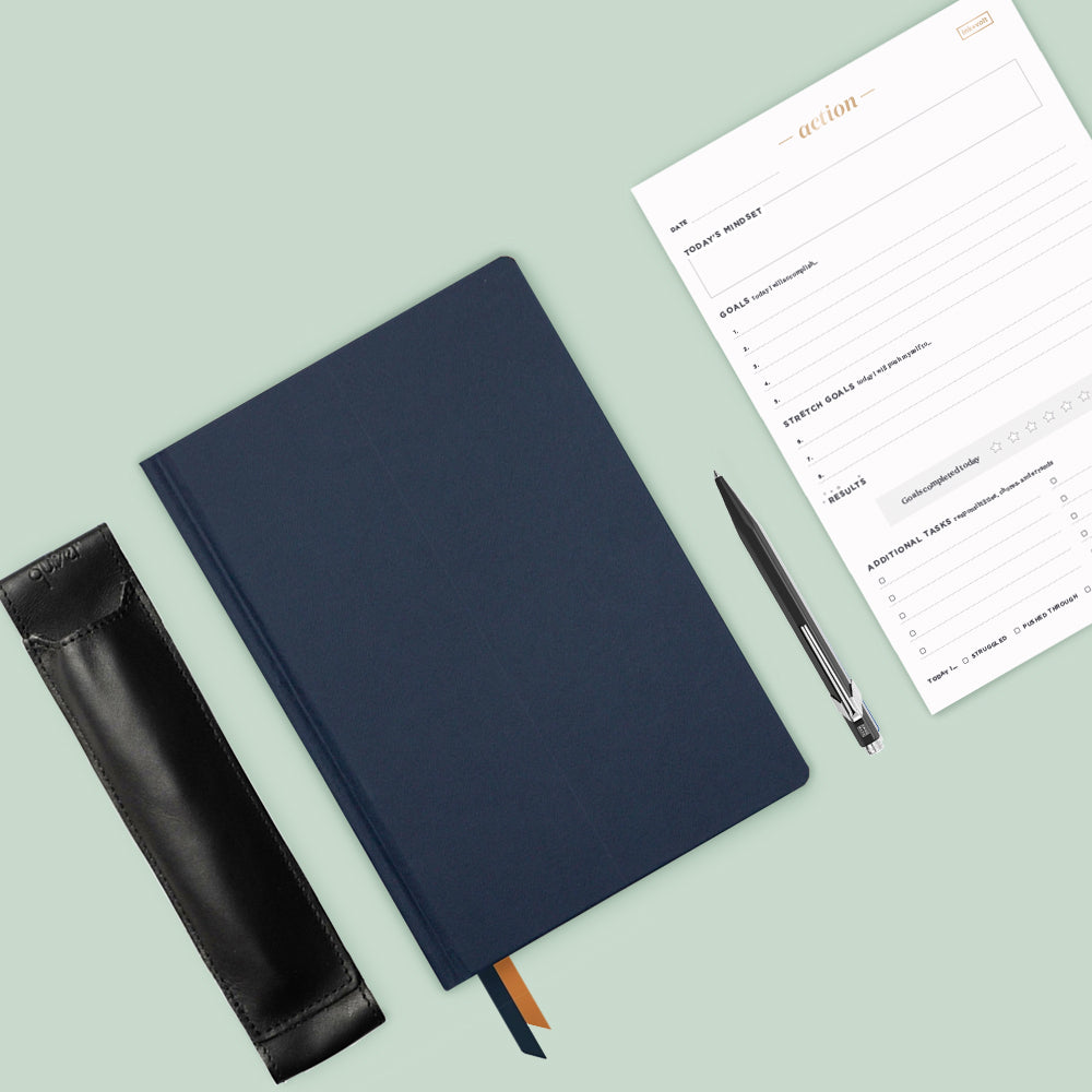 Ink+Volt Goal Planner Starter Kit navy