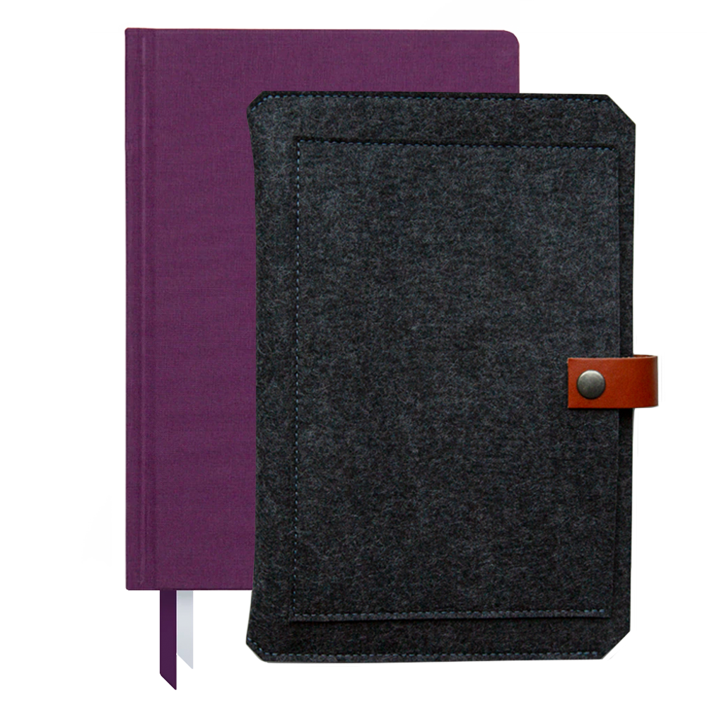 Ink+Volt 2021 Planner & Custom Planner Sleeve Bundle plum