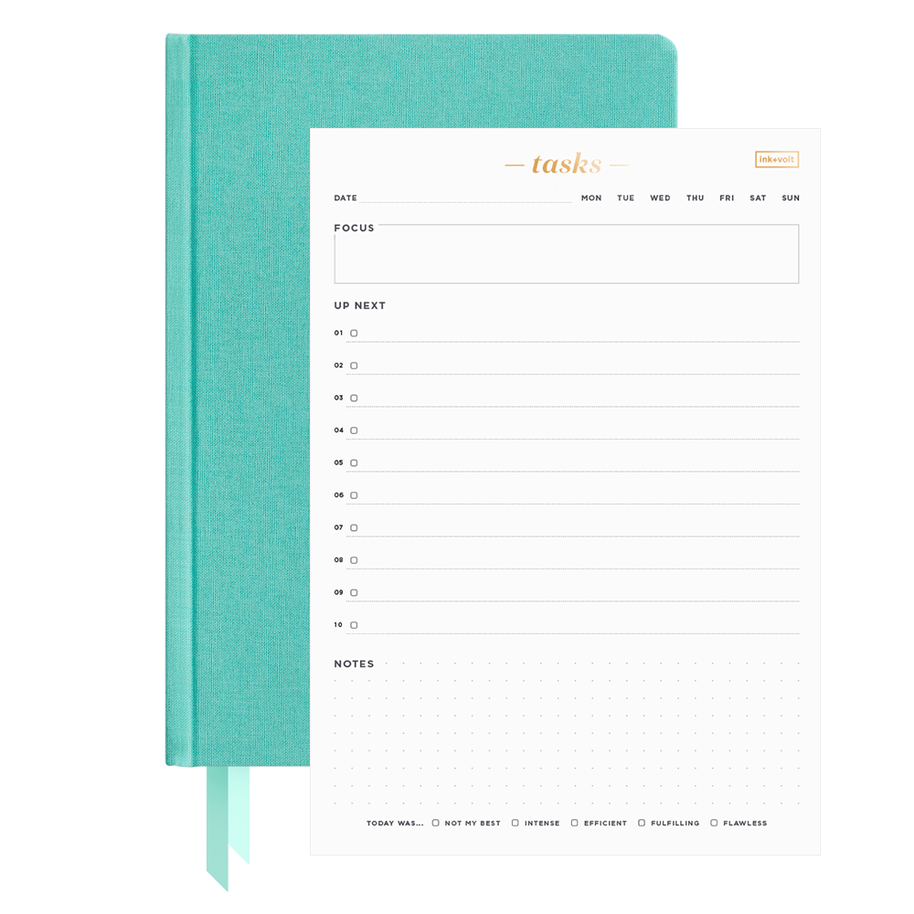 Ink+Volt 2021 Planner & Daily Task Pad Bundle splash