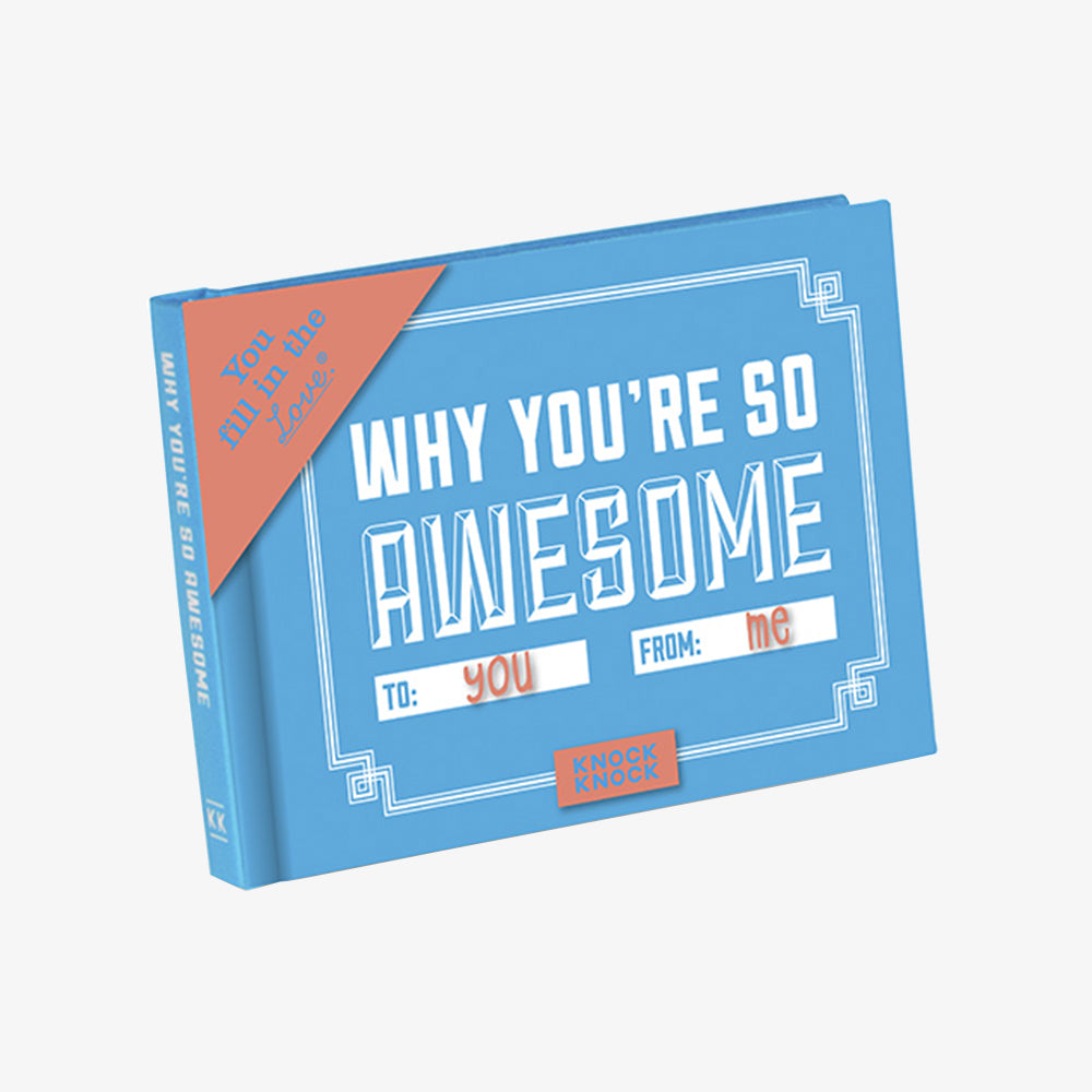 KnockKnock why you're so awesome journal cover