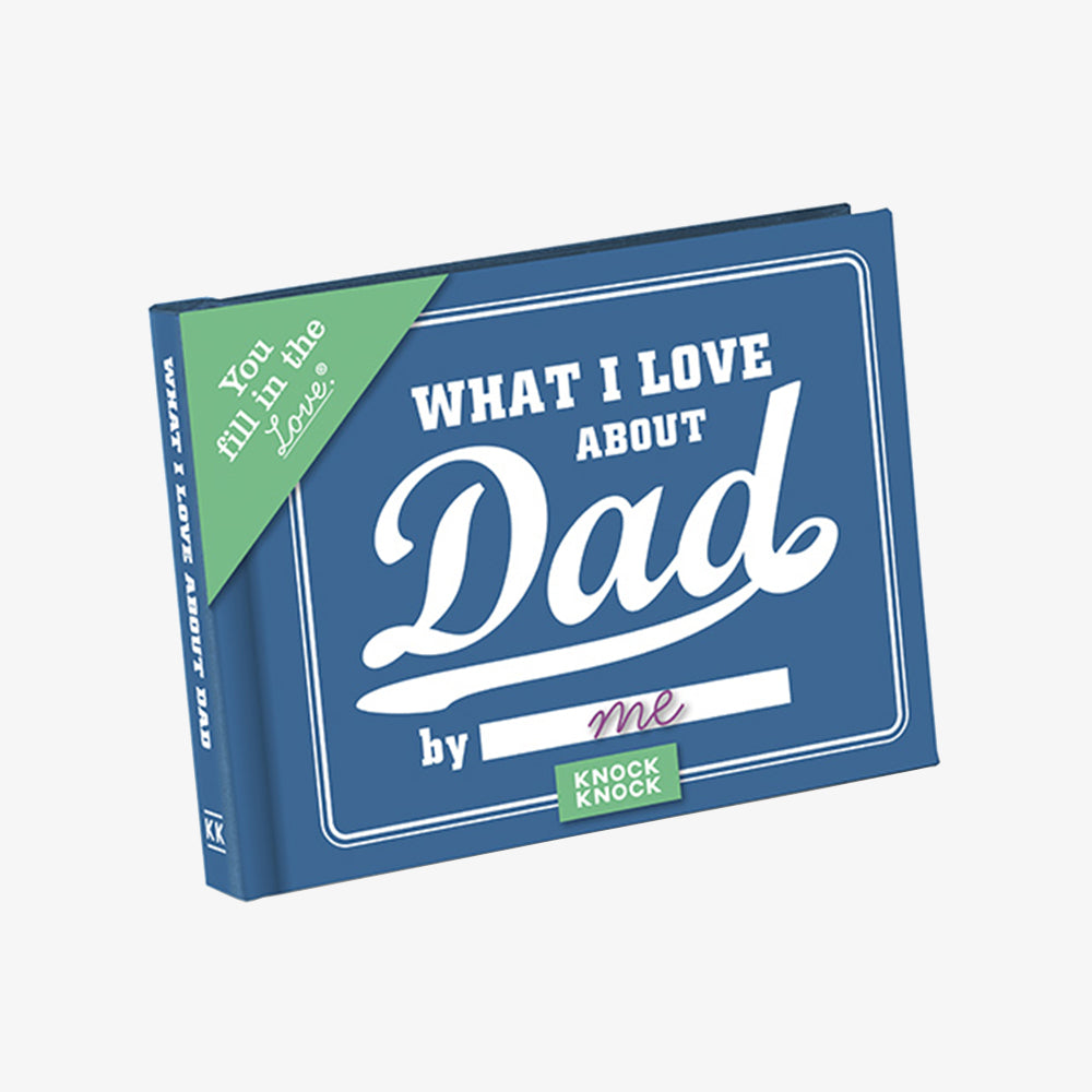 KnockKnock what i love about dad journal cover