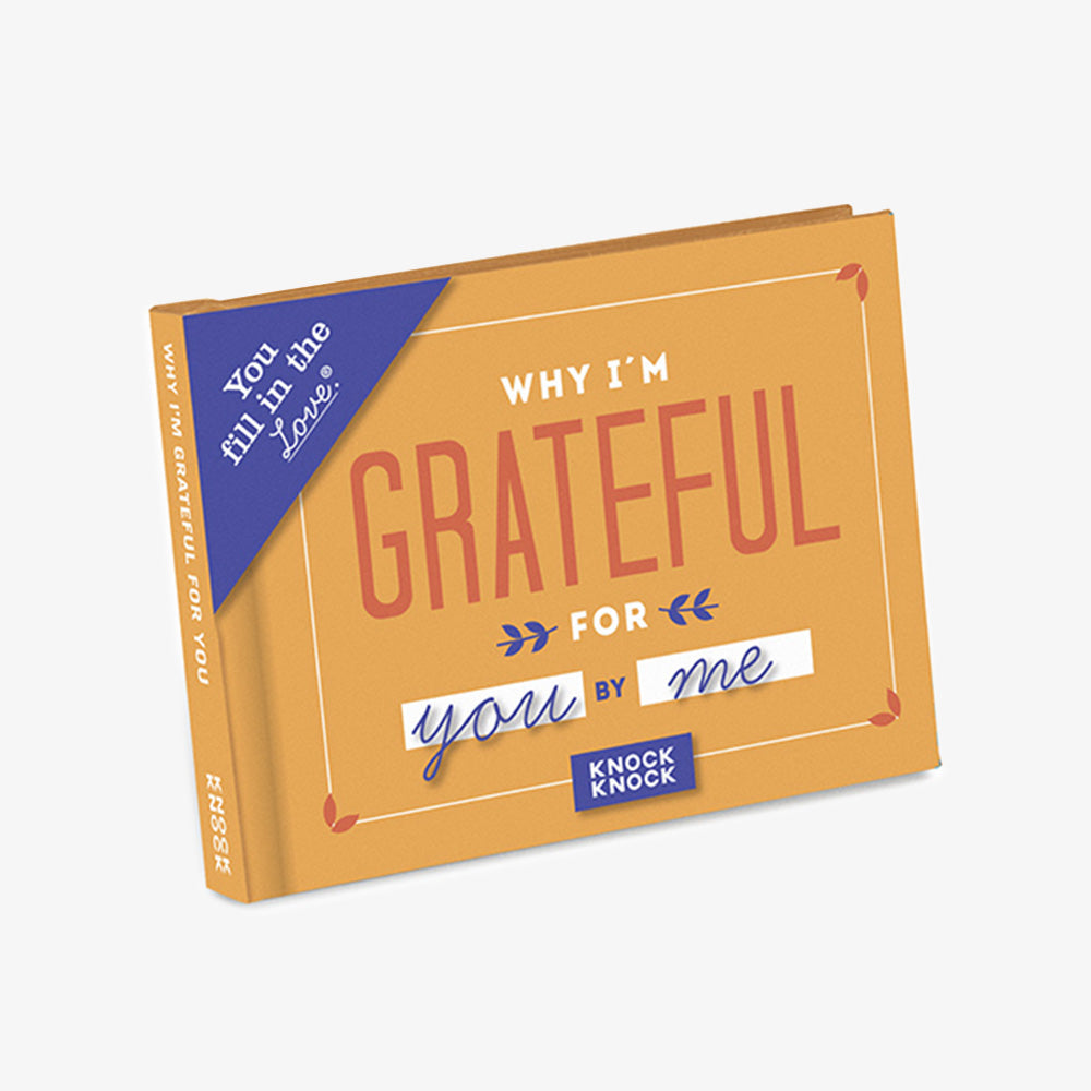 KnockKnock why I'm grateful journal cover